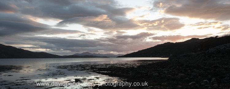 View From Reraig, Balmacara, Kyle of Lochalsh, Skye