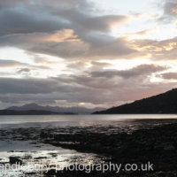 View From Reraig, Balmacara, Kyle of Lochalsh, Skye