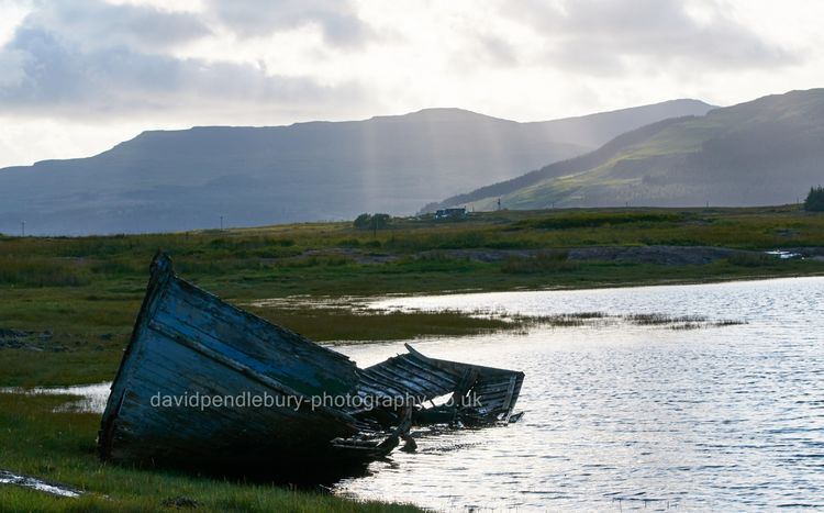 Rotting Boat Isle Of Mull