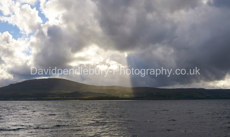 The Isle Of Skye Under A Curtain Of Light