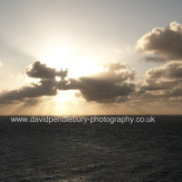 Sunset At Hartlands Point North Devon