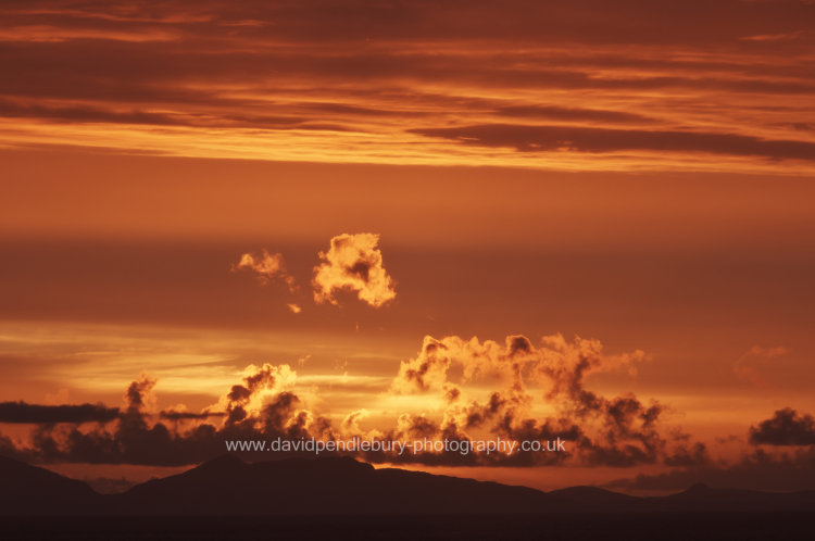 Sunset From The Isle Of Skye