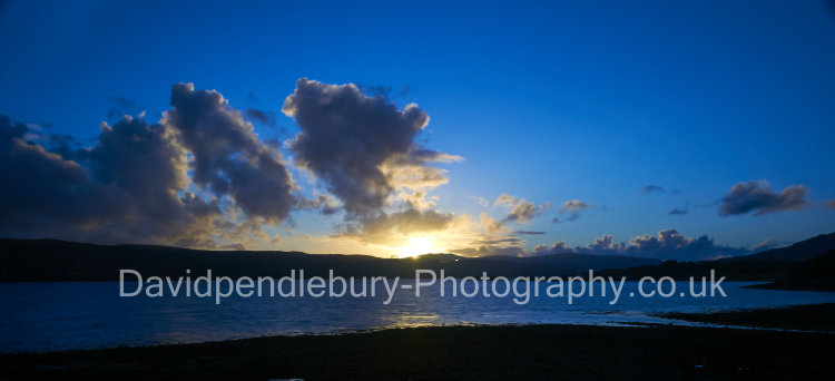 Late Evening Sunset Over Skye From The Isle Of Raasay