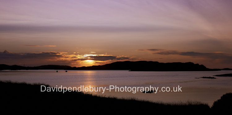 Sunset Over The Isle Of Mull Bunessan