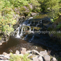 Waterfall Near Dun Caan On The Isle Of Raasay