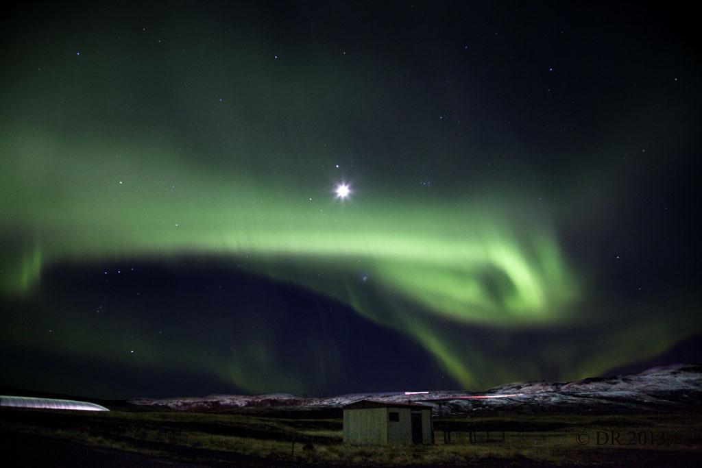 Aurora Borealis, Hveragerði, Iceland (11) Thor's fist?