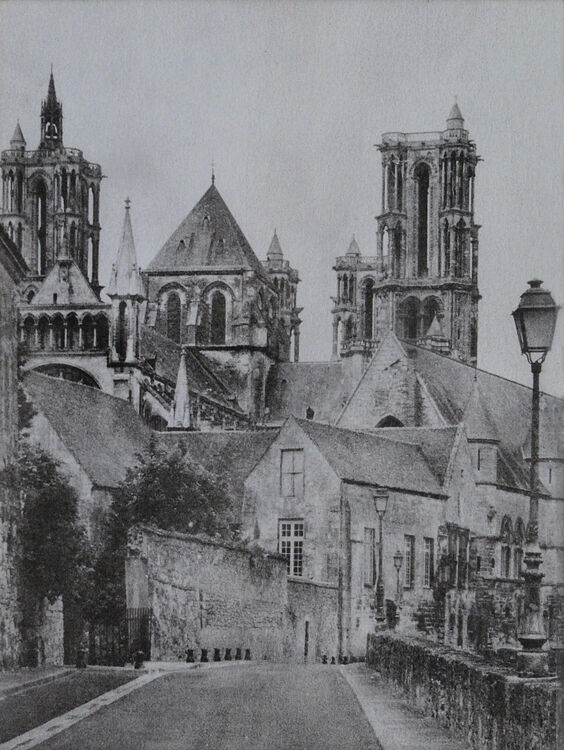 Laon Cathedral (rear)