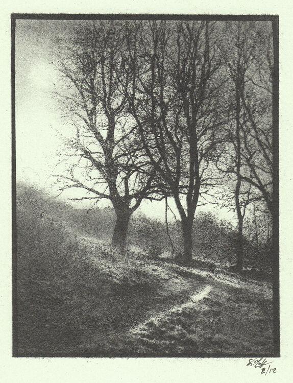 Winter Cunny Clapper Hill