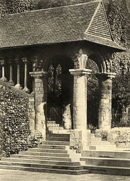 Norman Stairway Canterbury