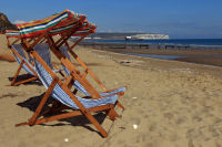 Deckchairs 'For Hire'