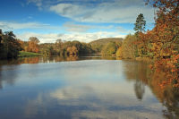 Autumn Colours at Witley Court