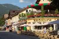 Summer evening in Garmisch
