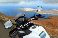 V Strom with a View!