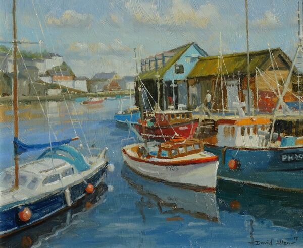 Harbour Colour,Mevagissey 10inx12in £650