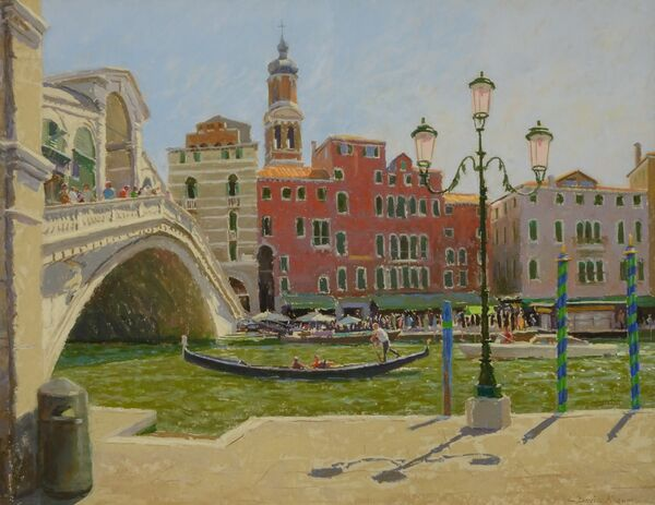 The Grand Canal at Rialto 17inx22in £1150