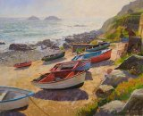 Cape Cornwall 15inx20in