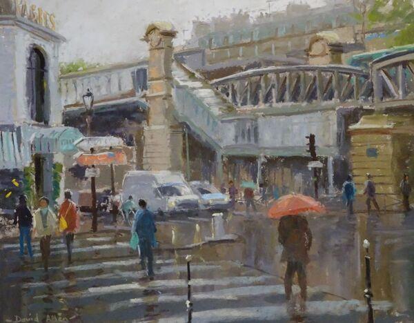 Barbs, Montmartre 12inx16in £750