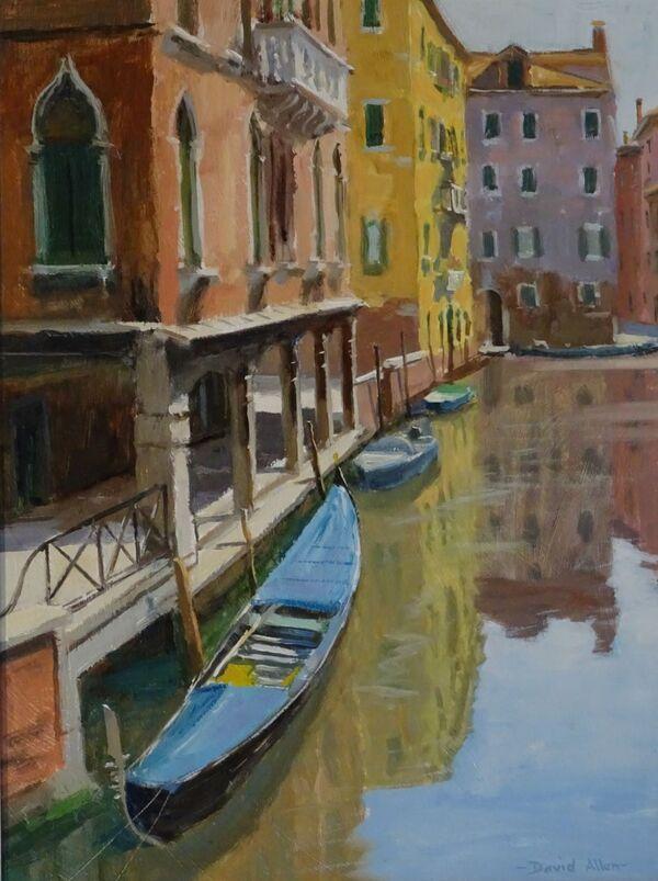 Rio di S. Sofia, Venice 16inx12in £750