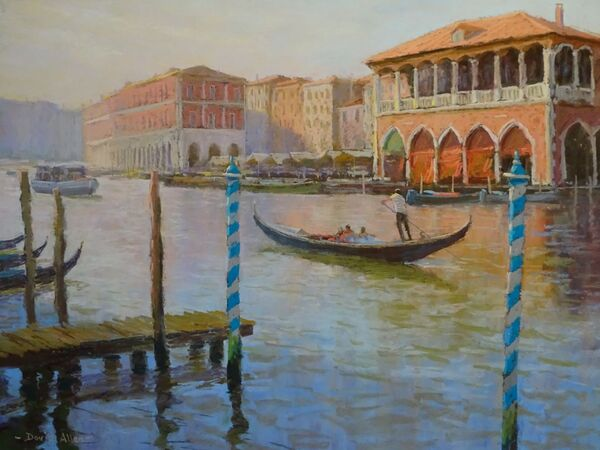 The Grand Canal at Rialto 15inx20in £950