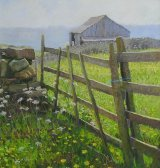 Fieldgate and Buttercups,Timble 16inx15in