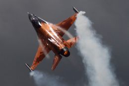 Royal Netherlands Air Force F16 Display
