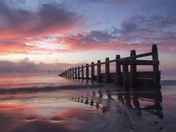 Sunrise Dawlish Warren