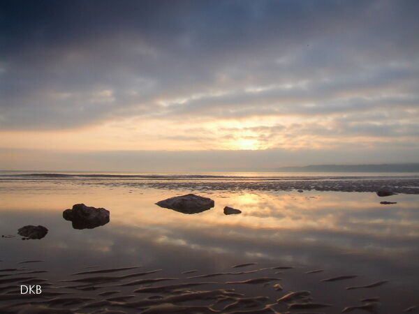 Sunrise Goodrington Sands, Paignton