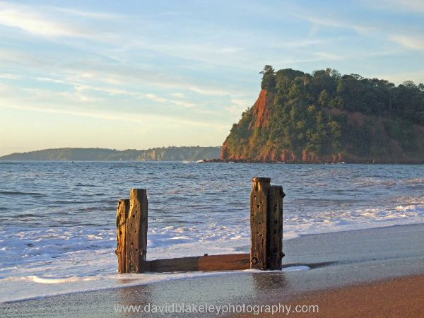 Morning light The Ness Shaldon from Teignmouth