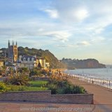 Early morning light Teignmouth, South Devon