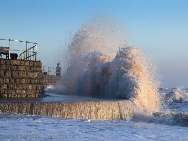 Monster Waves The Point, Teignmouth, South Devon