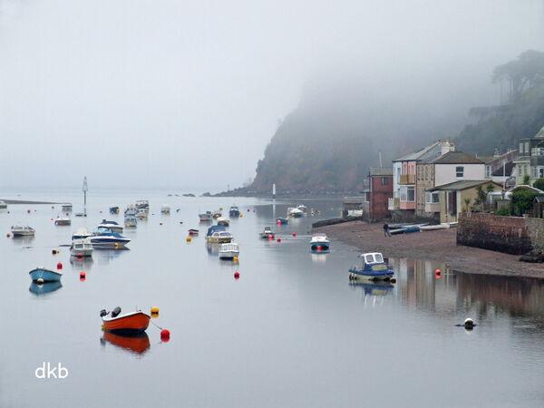 Foggy morning Shaldon.