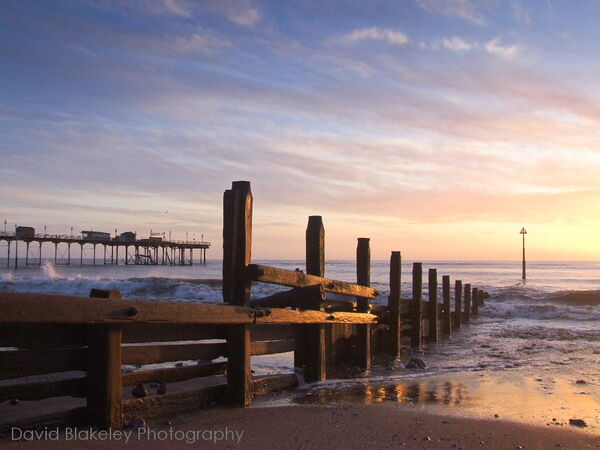 Sunrise Teignmouth Grand Pier and Sands