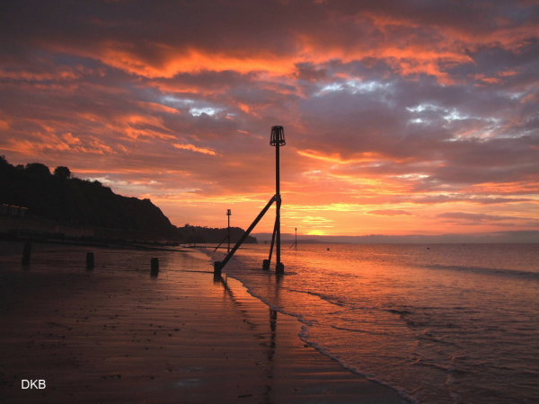 Sunrise Teignmouth Sands