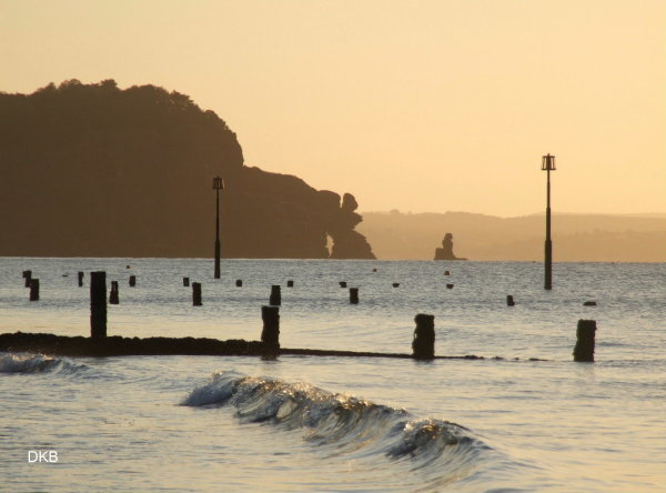Morning light The Parson & Clerk, Teignmouth