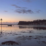First light Shaldon from Teignmouth