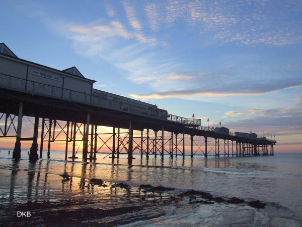 Sunrise Teignmouth Grand Pier
