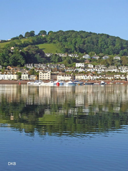 Early morning reflections Shaldon