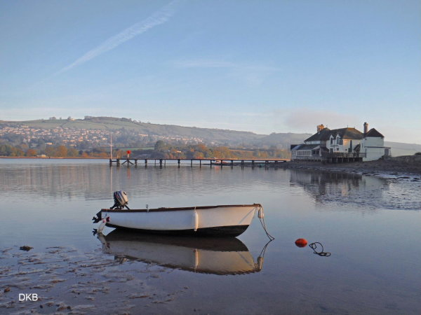 Early morning Coombe Cellars, Teign Estuary