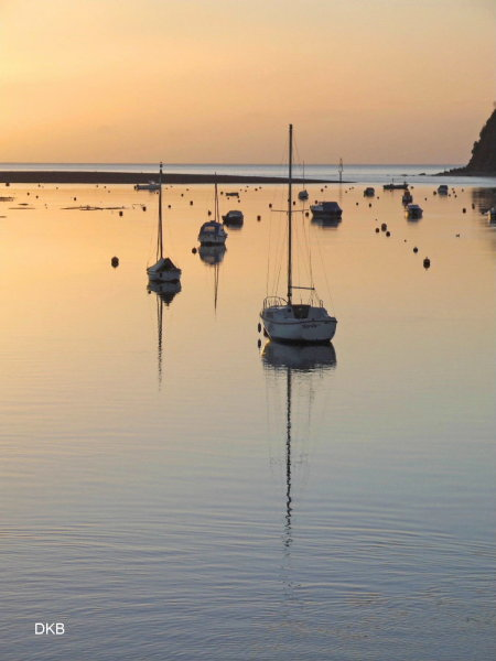 Early morning light Mouth of the Teign Estuary