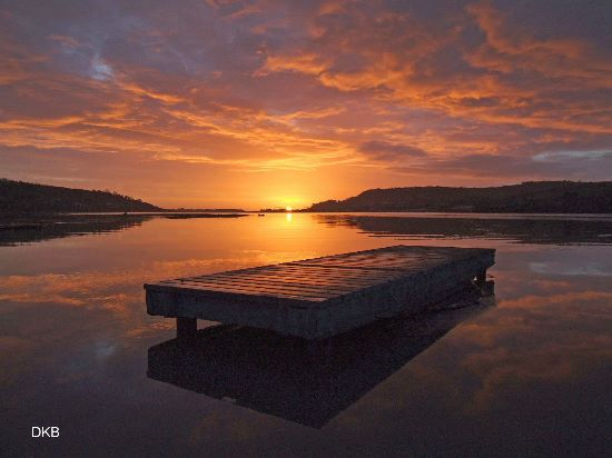 Sunrise Flow Point, Teign Estuary