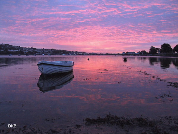 Sunrise The Strand, Ringmore, Teign Estuary