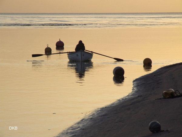 Morning light Shaldon Beach