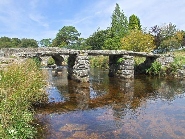 Summers day Two Bridges, Dartmoor