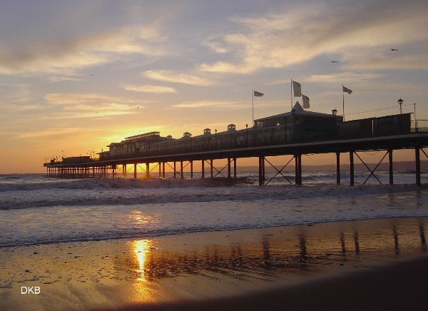 Sunrise Paignton Pier