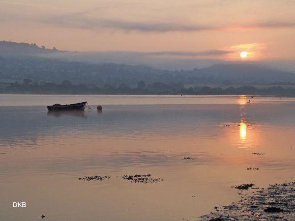 Sunrise Netherton, Teign Estuary