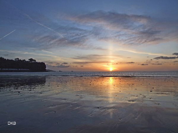 Sunrise Goodrington Sands, Paignton