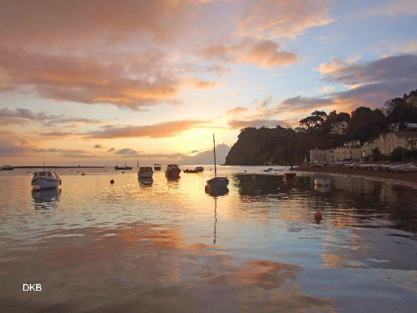 Sunrise from Clipper Quay, Shaldon