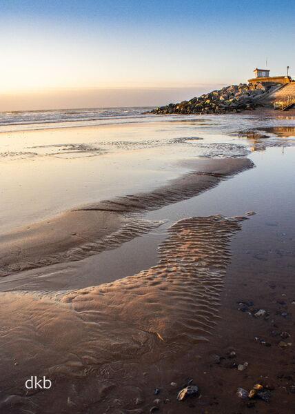 Morning light Dawlish Warren, South Devon