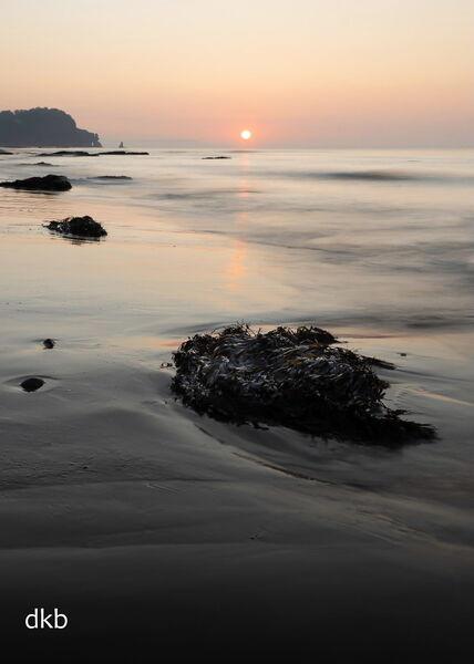 Sunrise Teignmouth Sands to Parson & Clerk