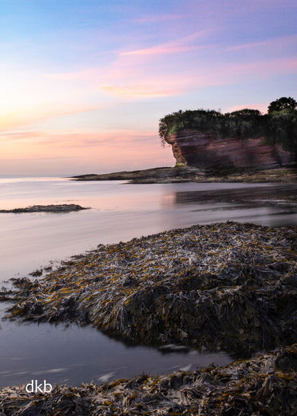 Early morning colours Fairy Cove, Paignton